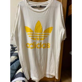 アディダス(adidas)の希少 90s USA製 adidas Tシャツ(Tシャツ/カットソー(半袖/袖なし))