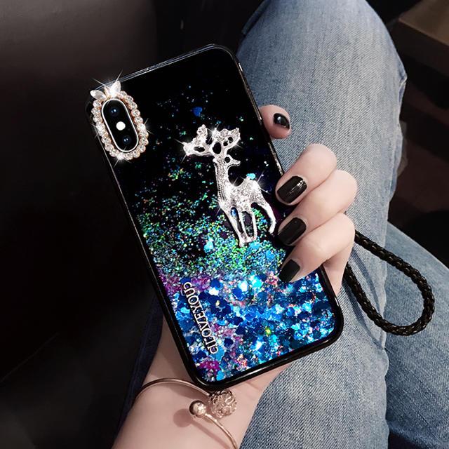 ディオール Galaxy S6 Edge ケース 、 流砂 動き スマホケース ストラップ 綺麗 iPhoneケース お洒落 の通販 by プロフィールを読んで下さい|ラクマ