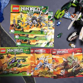 Lego - レゴ ニンジャゴー9450、9443、2509、2260 中古