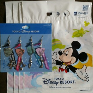 Disney - ディズニー ストラップ イヤホンジャック付き