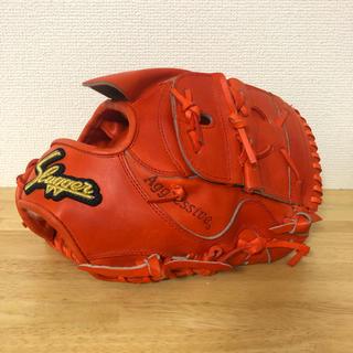 久保田スラッガー - 1回使用 キャッチボールのみ 久保田スラッガー 投手用 硬式 グローブ
