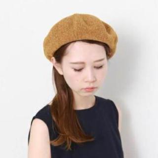 ケービーエフ(KBF)の美品 KBF ベレー帽(ハンチング/ベレー帽)