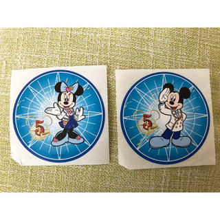 Disney - ディズニーシー 5周年 シール ステッカー ミッキーミニー