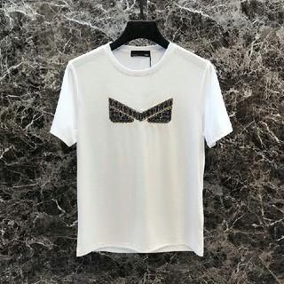 FENDI - フェンディ FENDI 半袖 Tシャツ  白  M