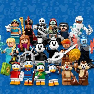 LEGO ディズニー ミニフィグ  18体 コンプリート