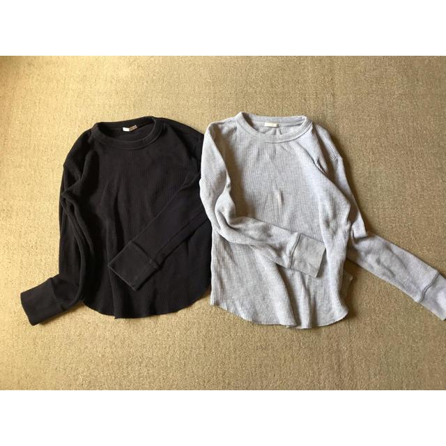 GU(ジーユー)のGUサーマルロンT 2枚セット レディースのトップス(Tシャツ(長袖/七分))の商品写真