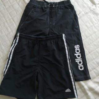 アディダス(adidas)の海パン 160 アディダス 黒(水着)
