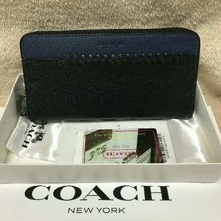 COACH - COACH コーチ 長財布 新品 男女兼用