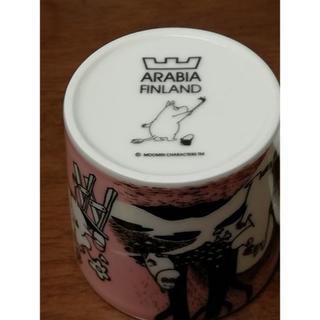 ARABIA - アラビア ムーミンマグ ラブ(ピンクラブ)旧ロゴ