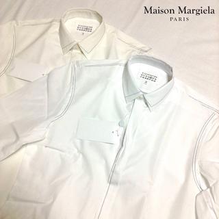 マルタンマルジェラ(Maison Martin Margiela)の新品■40■マルジェラ 17aw■箱入り ドレスシャツ■白 系■M■5574(シャツ)