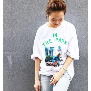"""TODAYFUL - via j(ヴィアジェイ) """"IN THE PARK""""半袖Tシャツ canal"""