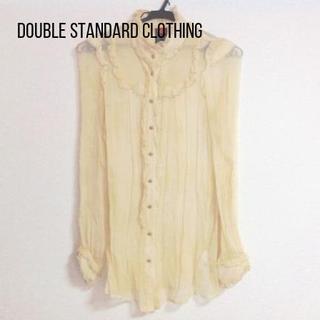 DOUBLE STANDARD CLOTHING - ダブルスタンダードクロージング 長袖シャツブラウス サイズF