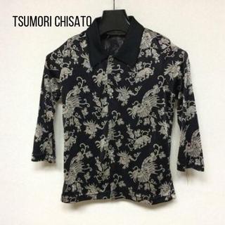 TSUMORI CHISATO - ツモリチサト 七分袖シャツブラウス サイズM レディース新品同様