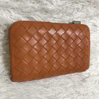 ボッテガヴェネタ(Bottega Veneta)のボッテガ  財布  オレンジ  カード入れにも 小銭入れ(財布)