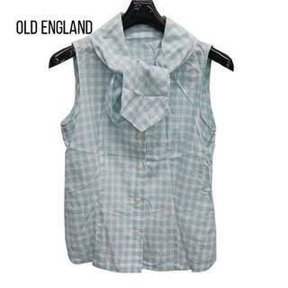 OLD ENGLAND - オールドイングランド ノースリーブシャツブラウス サイズ36 S美品