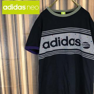 アディダス(adidas)のadidas アディダス Tシャツ 半袖 カットソー ビッグロゴ(Tシャツ/カットソー(半袖/袖なし))