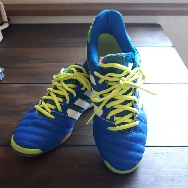 adidas(アディダス)のbraza94様専用フットサルシューズ アディダス スポーツ/アウトドアのサッカー/フットサル(シューズ)の商品写真
