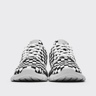 adidas - cu4tro BLACK WHITE CHECK KNIT 新品未使用