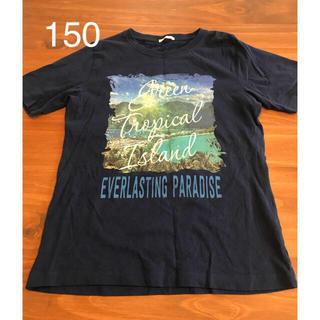 ジーユー(GU)のTシャツ gu 150 美品(Tシャツ/カットソー)