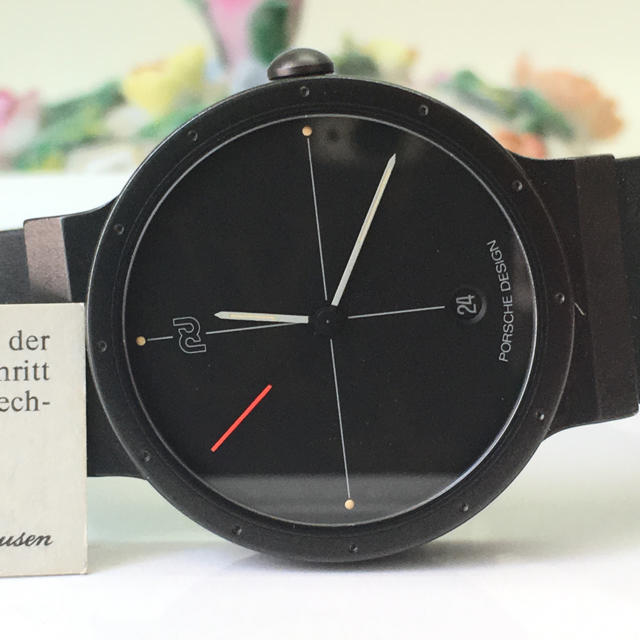 IWC ポルシェデザイン チタン クォーツ時計 極美品の通販