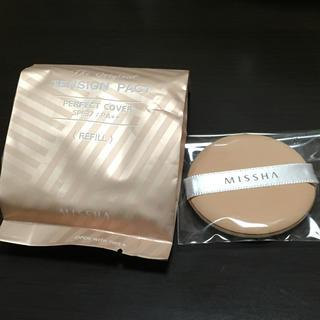 ミシャ(MISSHA)のMISSHA ミシャ テンションパクト パーフェクトカバー 21 リフィル 新品(ファンデーション)