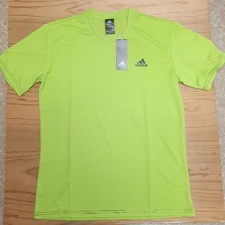 adidas - 新品タグ付き グリーン アディダス ドライ Tシャツ