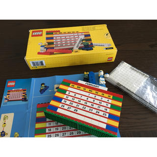 Lego - LEGO 万年カレンダー オマケつき 箱あり
