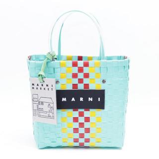 d94cfef8636f マルニ(Marni)の新品 マルニ フラワーカフェ ピクニックバッグ トート カゴ バッグ モザイク(