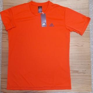アディダス(adidas)の新品タグ付き オレンジ アディダス ドライ Tシャツ Lサイズ(Tシャツ/カットソー(半袖/袖なし))