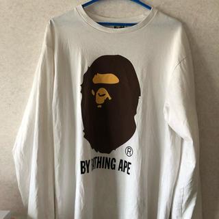 アベイシングエイプ(A BATHING APE)のa bathing ape 長袖(Tシャツ/カットソー(七分/長袖))