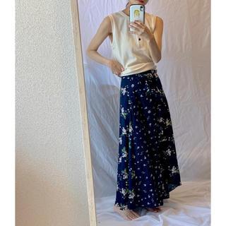 GU - 花柄 スカート GU