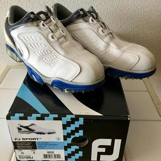 FootJoy - フットジョイ ゴルフシューズ 26cm Boa ホワイトブルー 53189J