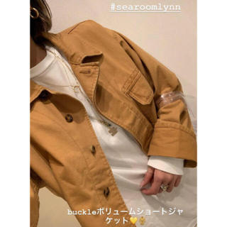 SeaRoomlynn - searoomlynn バックルボリュームショートジャケット