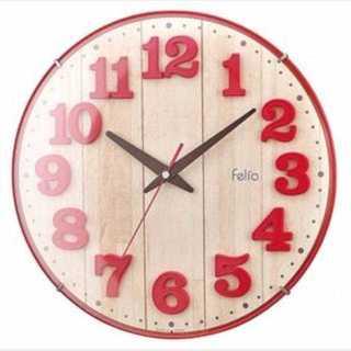 残りわずか!★壁掛け時計 ブリュレ