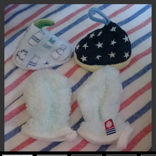 fce4d20aef975 今治 白雲 ベビーミトン 手袋 おしっこキャップ(手袋)