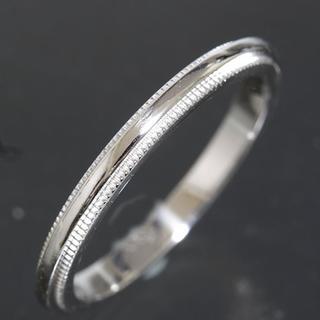 ティファニー(Tiffany & Co.)のティファニー TIFFANY&CO.ミルグレイン リング 10号 仕上済(リング(指輪))