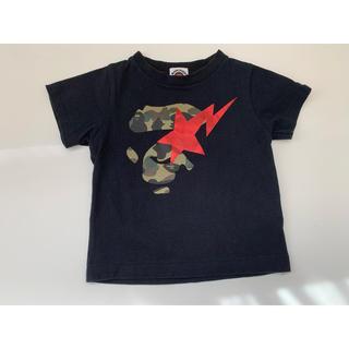アベイシングエイプ(A BATHING APE)のbape kids*Tシャツ*90cm(Tシャツ/カットソー)