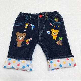 mikihouse - ★美品です★ ミキハウス 刺繍たくさん ハーフパンツ 100サイズ