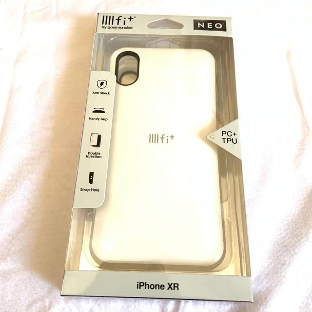 iPhone XR ケース ホワイトの通販 by muumn3's shop|ラクマ