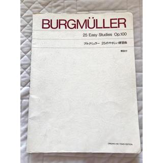 ブルグミュラー 25のやさしい練習曲 解説付