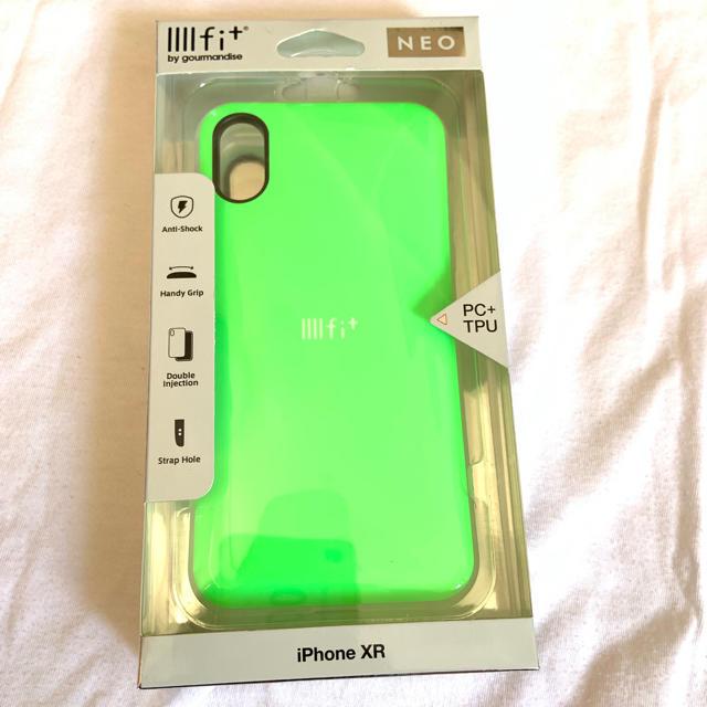iPhone XR ケース グリーンの通販 by muumn3's shop|ラクマ