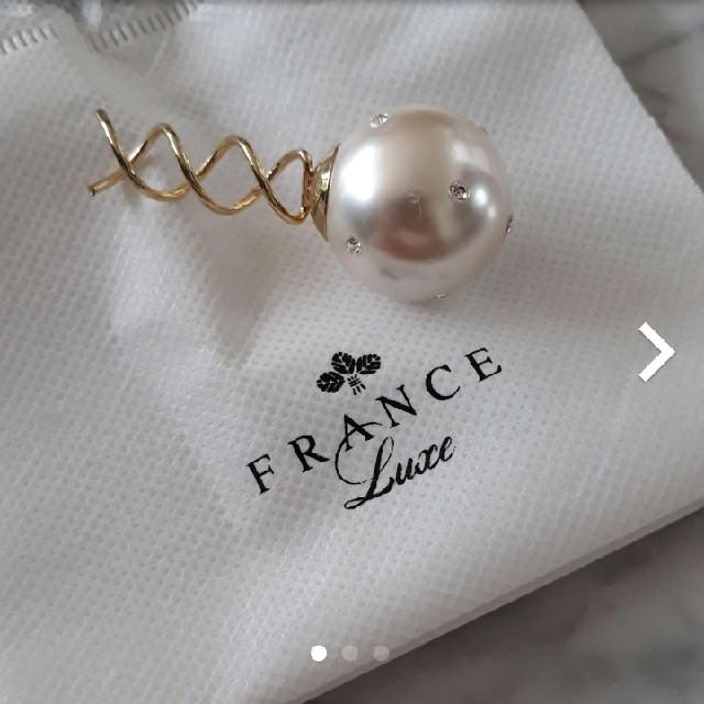 H.P.FRANCE(アッシュペーフランス)の☆フランスラックス☆ヘアアクセサリー☆ レディースのヘアアクセサリー(その他)の商品写真