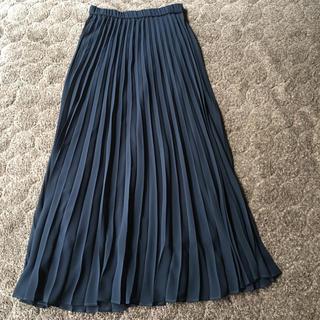 PLST - プラステ  plst  シフォンプリーツロングスカート