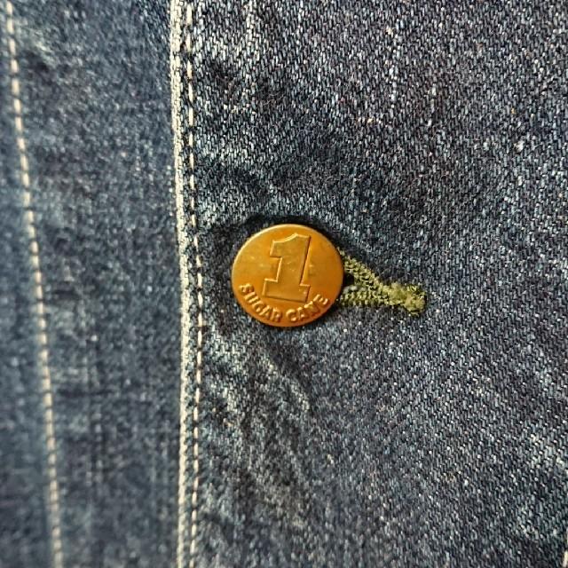 Sugar Cane(シュガーケーン)のサンタクロース様専用 シュガーケーン デニムジャケット Gジャン メンズのジャケット/アウター(Gジャン/デニムジャケット)の商品写真