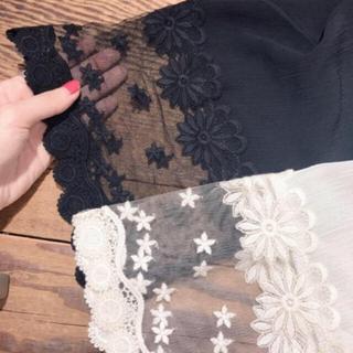 フラワー(flower)のeternal lace cardigan(カーディガン)
