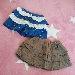 ビケット(Biquette)のセット キュロット スカート 美品(スカート)