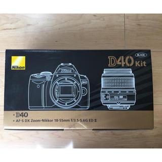 Nikon - Nikon D40 一眼レフ カメラ