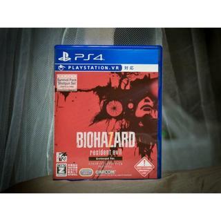 PlayStation4 - バイオハザード7  レジデント イービル グロテスクVer. PS4 中古
