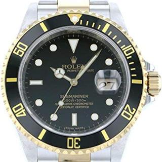 ロレックス(ROLEX)のロレックス ROLEX サブマリ-ナ デイト 16613LN 中古 腕時計 (腕時計(アナログ))