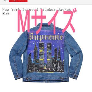 Supreme - supreme new york printed Jacket デニムジャケット